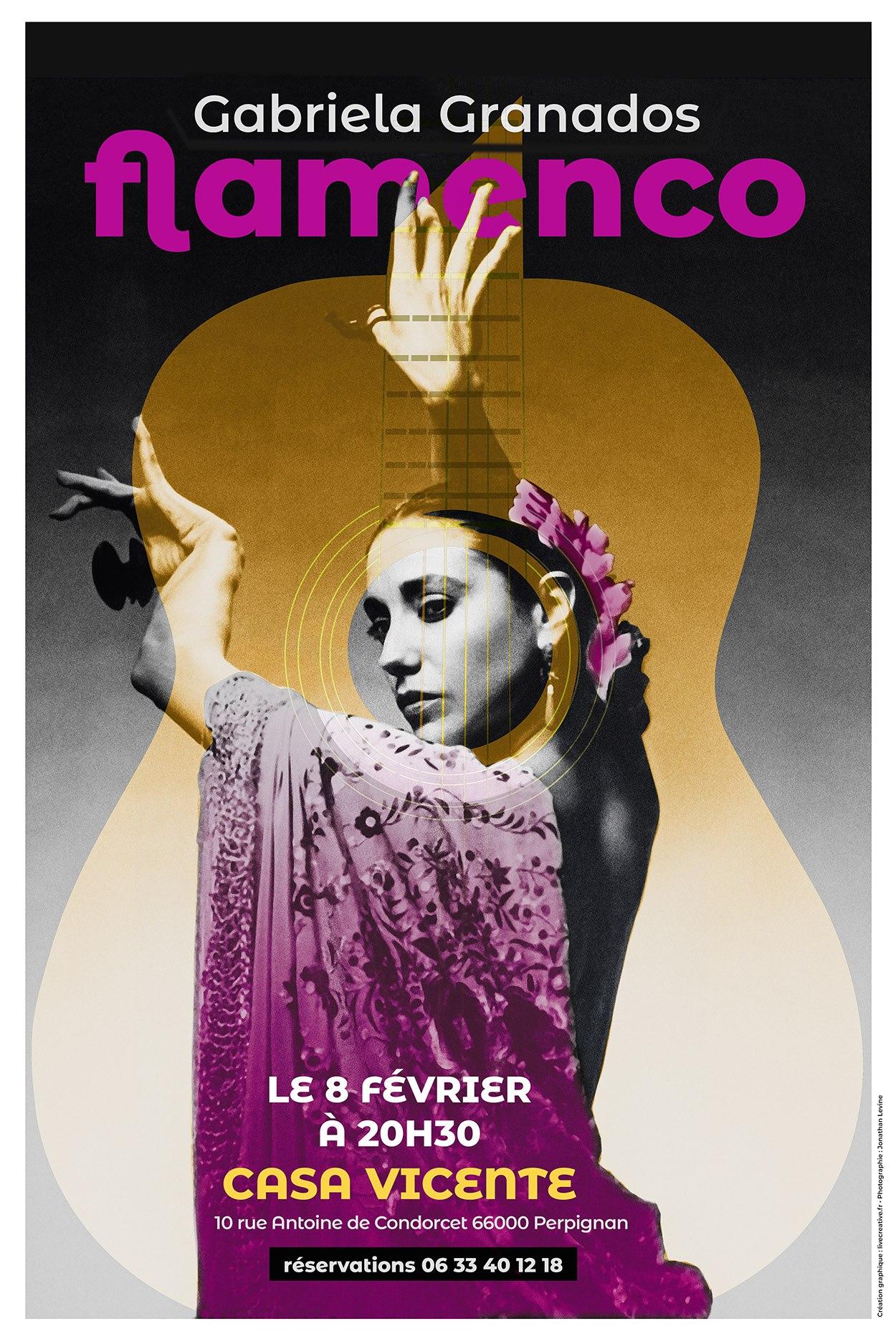 Affiche flamenco-live